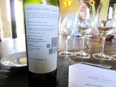 Andeluna, 1300 Torrontés 2015, Uco Valley, Mendoza, Argentina, Wine Casual
