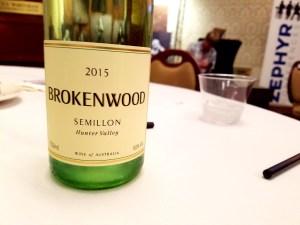 Brokenwood, Semillon 2015, Hunter Valley, Australia, Wine Casual