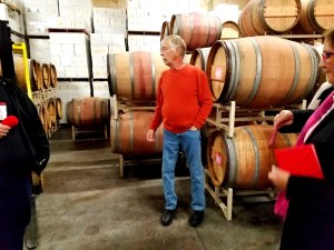 Photo Credit: Wine Casual, Rob Bell, the owner and cellarmaster of Cathedral Ridge.