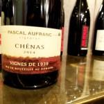 Pascal Aufranc, Vignes de 1939 Chénas 2014, Beaujolais, France, Wine Casual