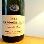 Sylvain Dussort, Cuvée des Ormes Bourgogne Blanc 2015, Burgundy, France, Wine Casual