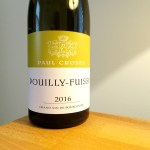 Paul Croses, Pouilly-Fuissé 2016, Burgundy, France, Wine Casual
