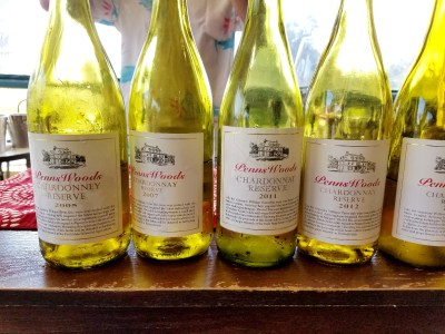 Photo Credit: Wine Casual, Penns Woods Winery shares vertical of its chardonnay from 2005 - 2018.   Wine Casual.