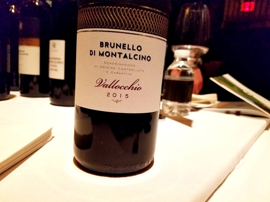 Vallocchio Brunello Di Montalcino 2015, Benvenuto Brunello 2020 New York City, Wine Casual