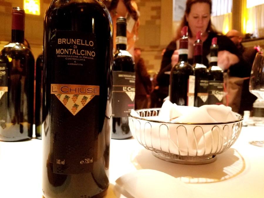 L'Chiuse Brunello di Montalcino, Benvenuto Brunello 2020 New York City, Wine Casual
