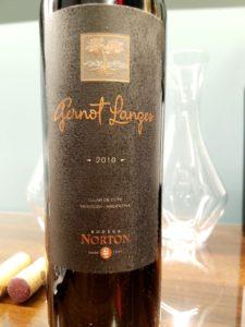 Bodega Norton, Gernot Langes 2010, Wine Casual.