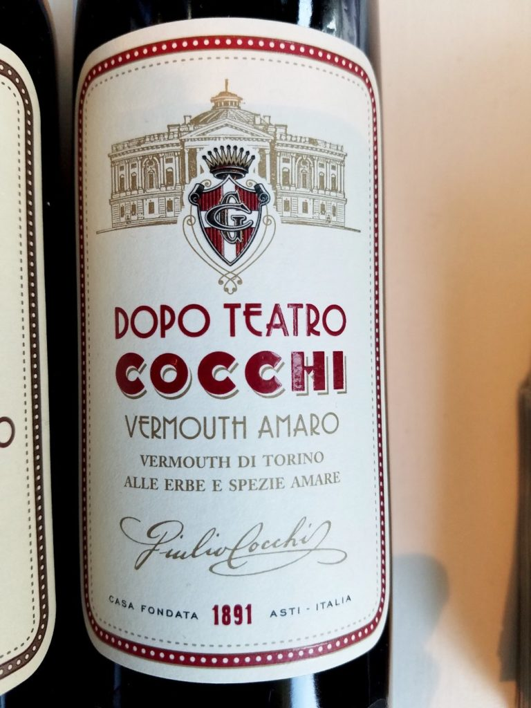 Cocchi Vermouth di Torino Piedmont Italy, Slow Wine New York Winetasting, Wine Casual