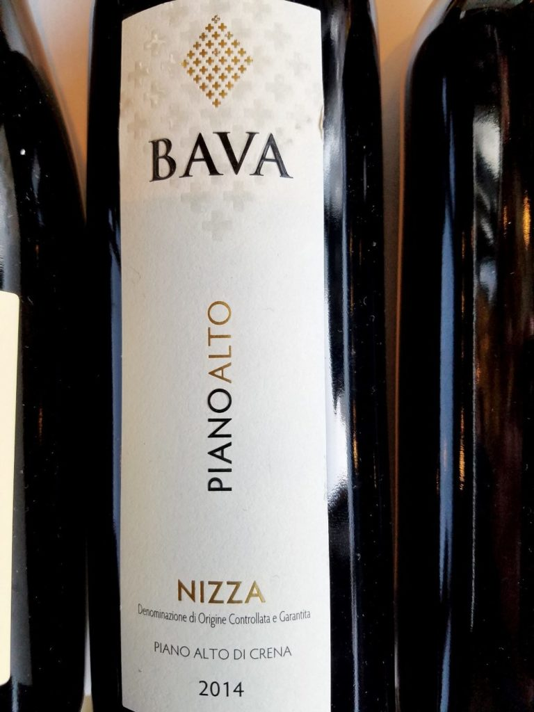 Bava Nizza PianoAlto 2014 Piedmont Italy, Slow Wine New York Winetasting, Wine Casual