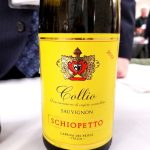Schiopetto Collio Sauvignon 2018, Gambero Rosso New York Winetasting, Wine Casual
