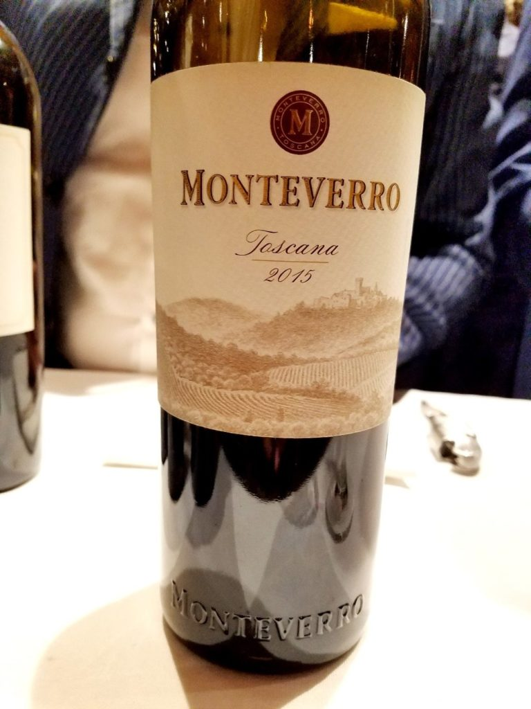 Monteverro Toscana 2015, James Suckling Great Wines of Italy New York 2020, Wine Casual