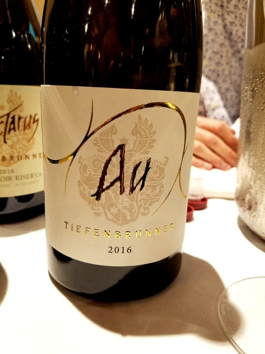 Tiefenbrunner Chardonnay 2016, James Suckling Great Wines of Italy New York 2020, Wine Casual