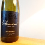 Element Winery, Syrah 2011, Finger Lakes, New York, Wine Casual