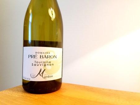 Domaine Pré Baron, Touraine Sauvignon Blanc 2019, Loire, France, Wine Casual