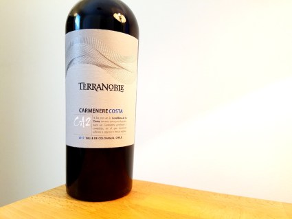 TerraNoble, CA2 Carmenere Costa 2017, Colchagua, Chile, Wine Casual