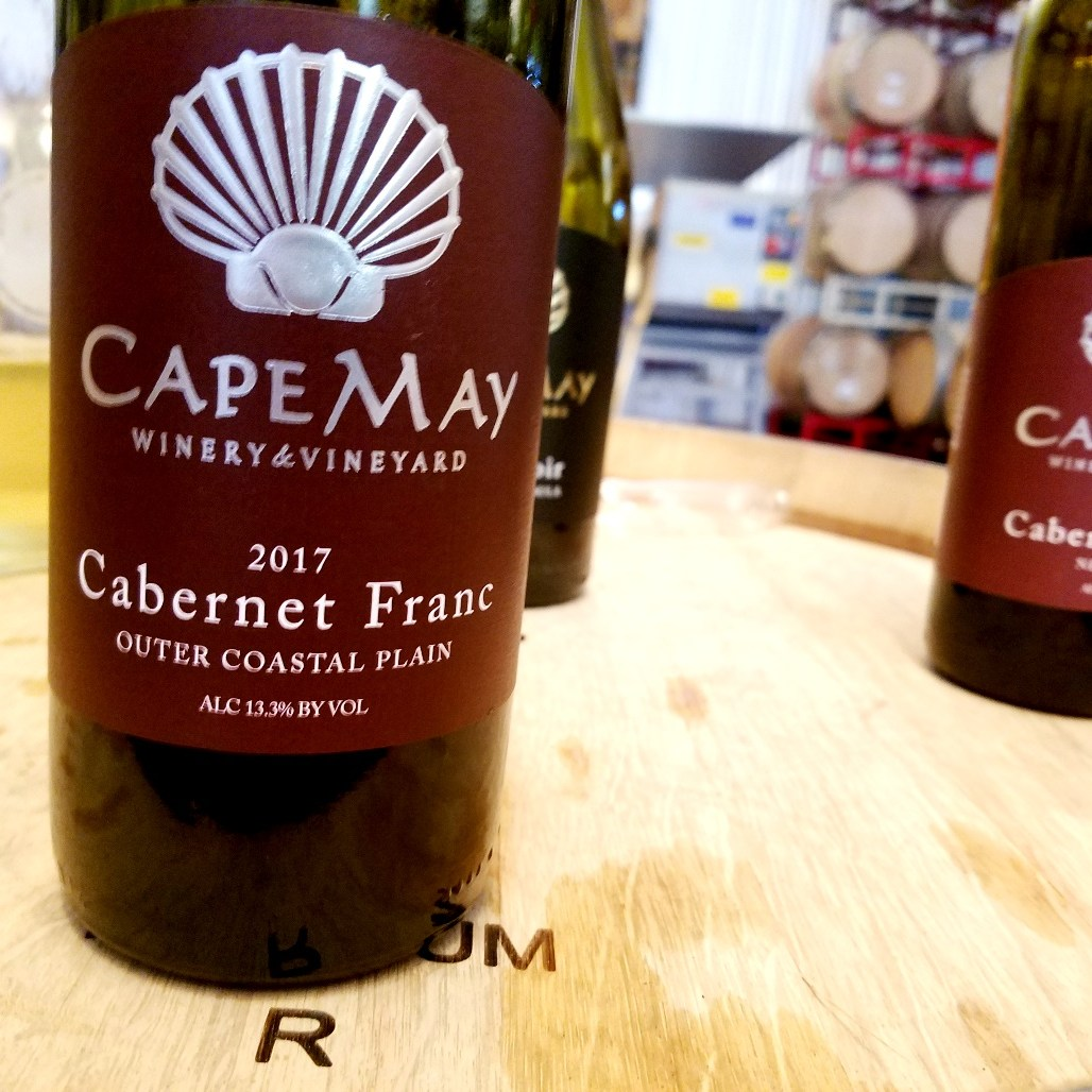 Cape May Winery & Vineyard, Cabernet Franc 2017, Outer Coastal Plan, New Jersey, Wine Casual