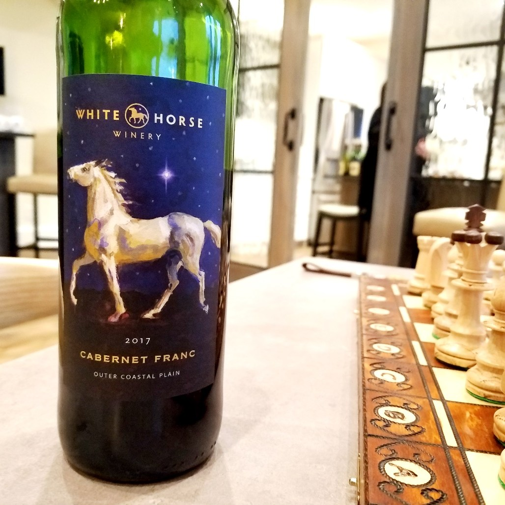 White Horse Winery, Cabernet Franc 2017, Outer Coastal Plain, New Jersey, Wine Casual