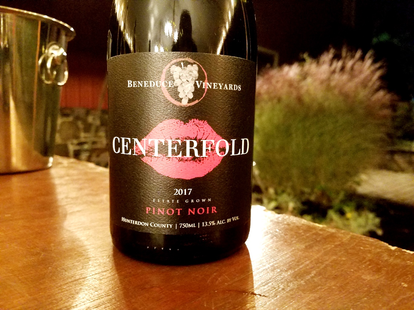Beneduce Vineyards, Centerfold Pinot Noir 2017, New Jersey, Wine Casual