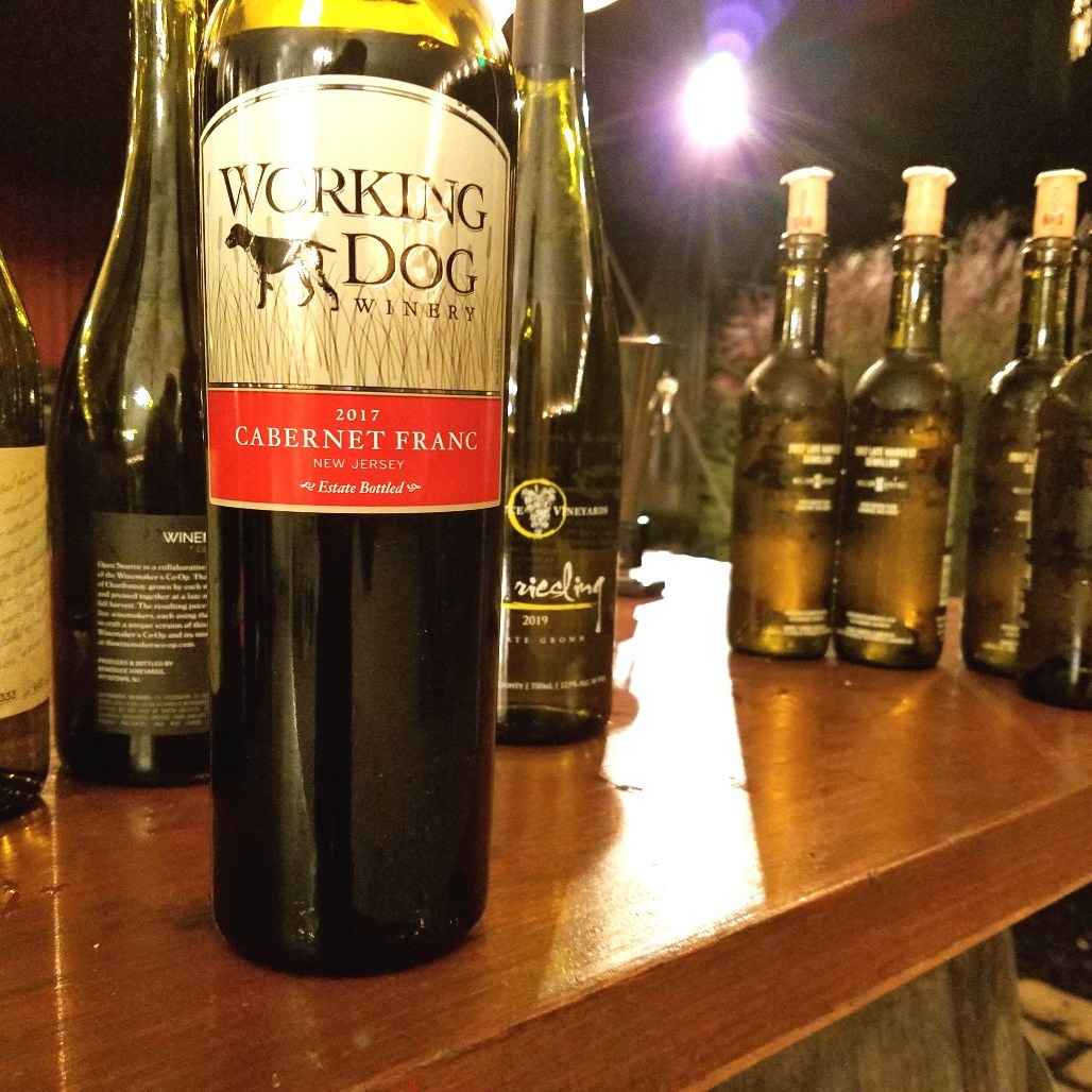 Working Dog Winery, Cabernet Franc 2017, New Jersey, Wine Casual