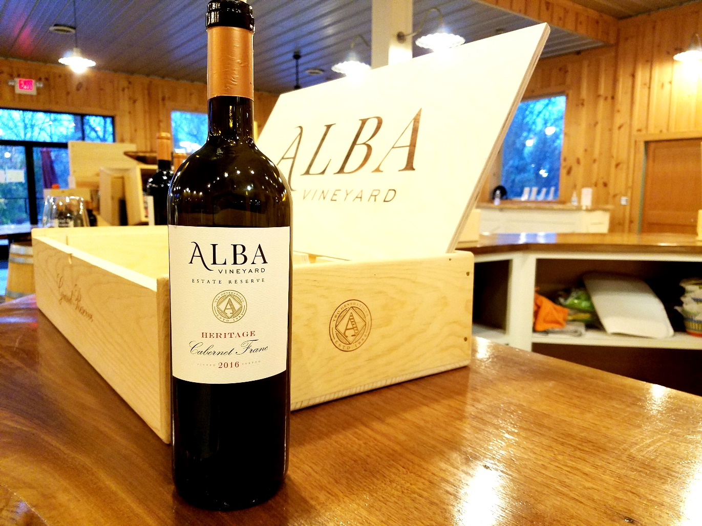 Alba Vineyard, Estate Reserve Heritage Cabernet Franc 2016, New Jersey, Wine Casual