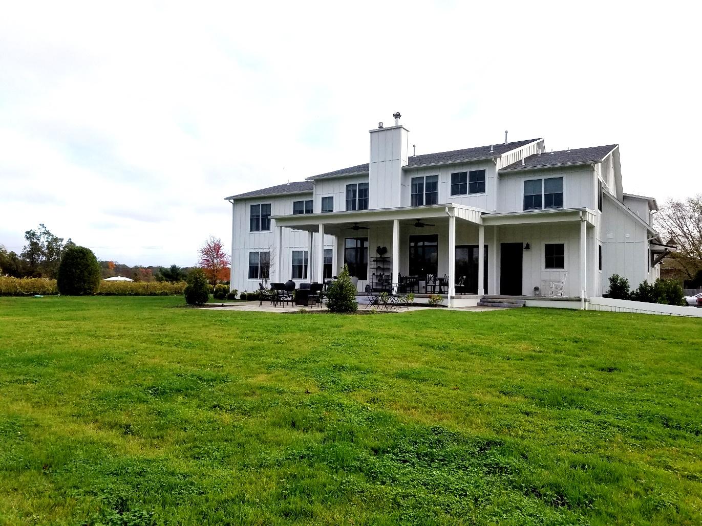 Photo Credit: Wine Casual, White Horse Winery Farmhouse backyard. Wine Casual