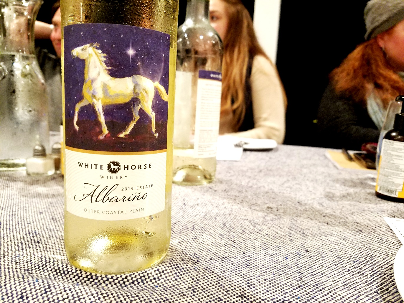 White Horse Winery, Estate Albariño 2019, Outer Coastal Plain, New Jersey, Wine Casual