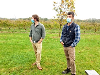Cedar Rose Vineyards was founded by millennial owners Steven Becker and Dustin Tarpine.  Wine Casual