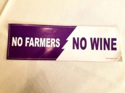 "The Winemaker's Co-Op advocates for New Jersey wine and grape growers with the unofficial bumper-sticker slogan, ""No Farmers, No Wine!""  Wine Casual"