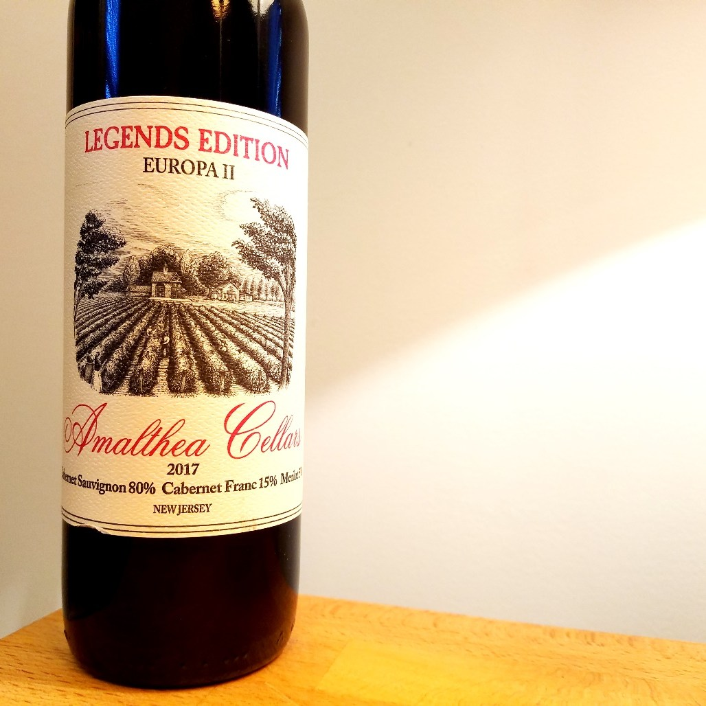 Amalthea Cellars, Legends Edition Europa II 2017, New Jersey. Wine Casual