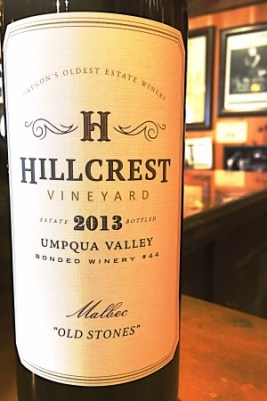 HillCrest Vineyard, Old Stones Malbec 2013, Umpqua Valley, Oregon, Wine Casual
