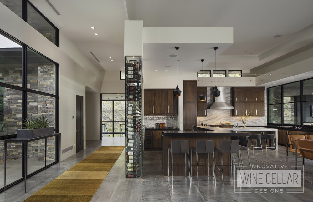 Contemporary  Modern Design  Innovative Wine Cellar Designs