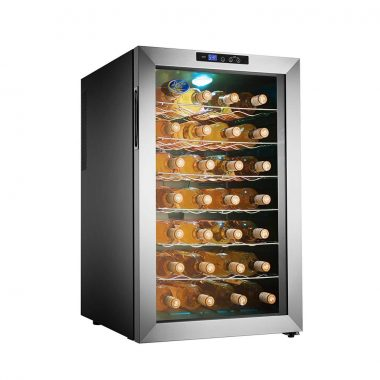 5335 Electro Boss 28 Bottle Thermoelectic Wine Cooler front
