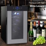 Nutrichef PKTEWC80 Thermoelectric 8 Bottle Wine Cooler. Is This Cool Mini Wine Cellar Worth the Money?