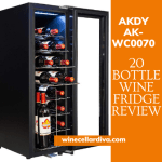 AKDY AK-WC0070 20-Bottle Compressor Wine Cooler Review