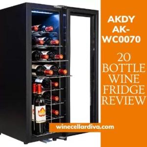 AKDY AK-WC0070 20 Bottle Wine Cooler Review