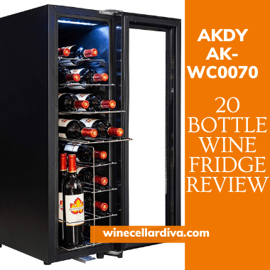 AKDY AK-WC0070 20 Bottle Wine Cooler Review