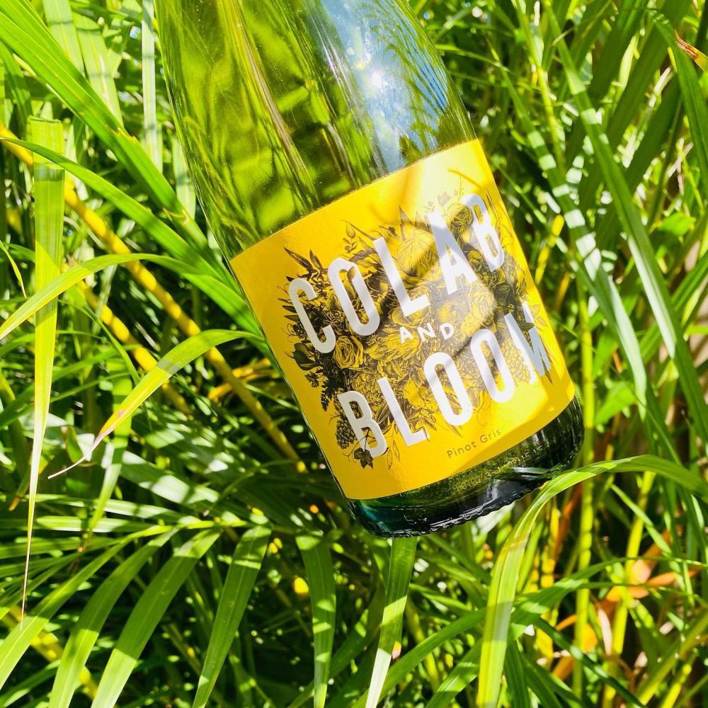 colab & bloom wine, wine chats podcast wine sponsor