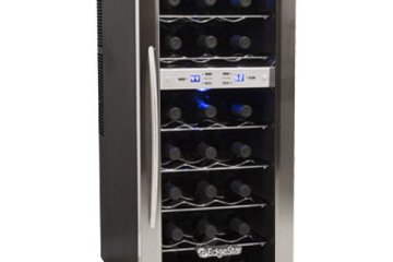 EdgeStar 21 Bottle Dual Zone Wine Cooler