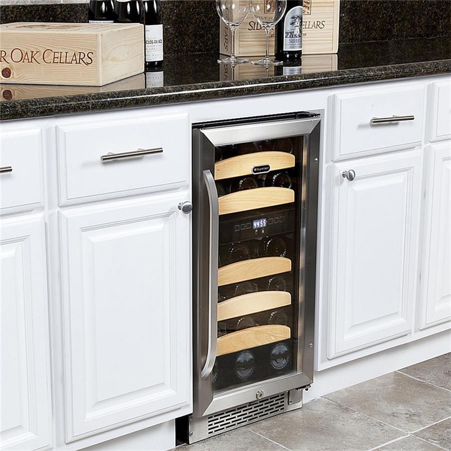 The Whynter Undercounter Wine Cooler Is Easy To Use