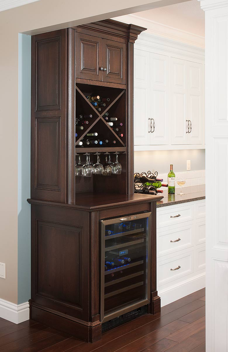 What Type of Cabinet Surface Will a Wine Cooler Fit In
