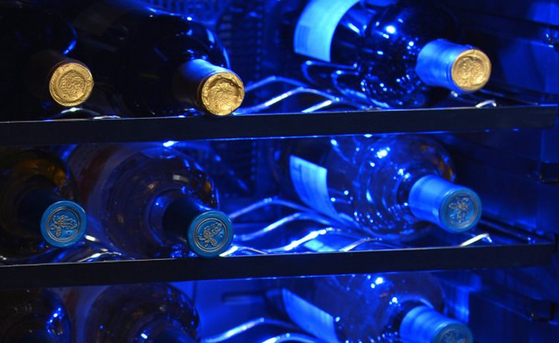 will the light in your wine cooler hurt anything