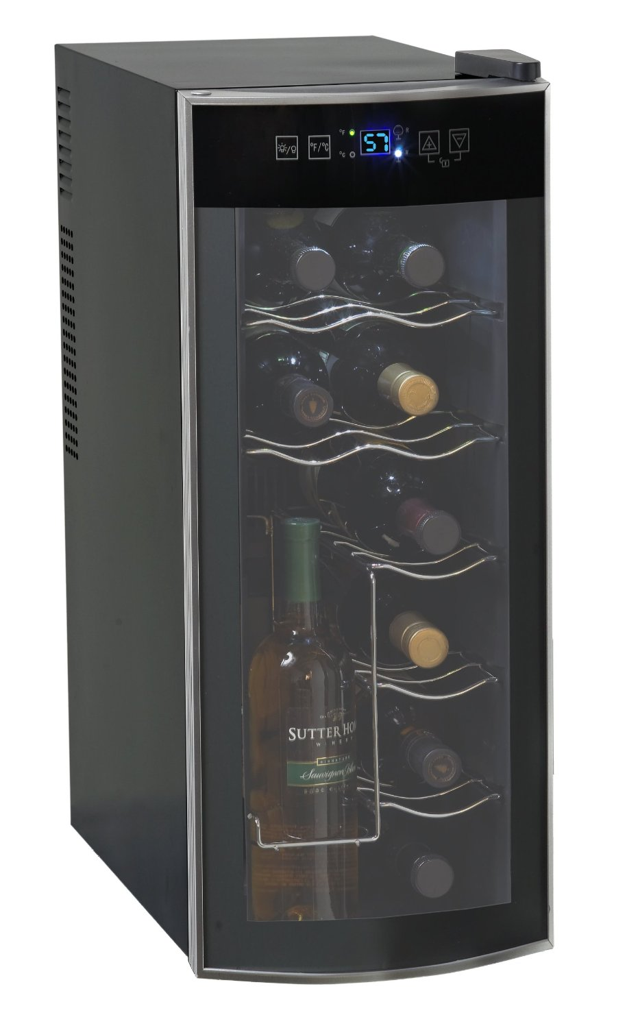 full countertop cooler building wine a of glass cellar costco size door