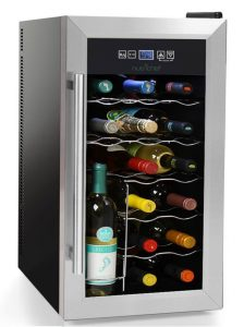 NutriChef 18 Bottle Wine Cooler