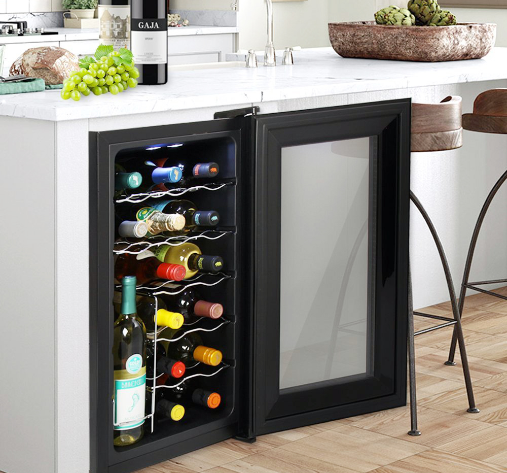 fridge storage for kitchen pin forget ideas one galley kitchens countertop mini a big cooler go style boosting updates the wine