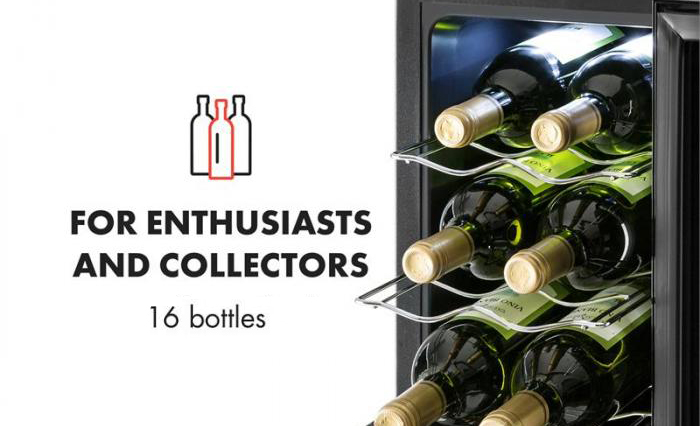 Klarstein Bellevin 16 Bottle Wine Cooler Pros Cons And