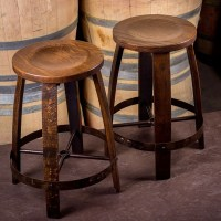 Barrel Ring Barstool by The Oak Barrel Company | Wine ...