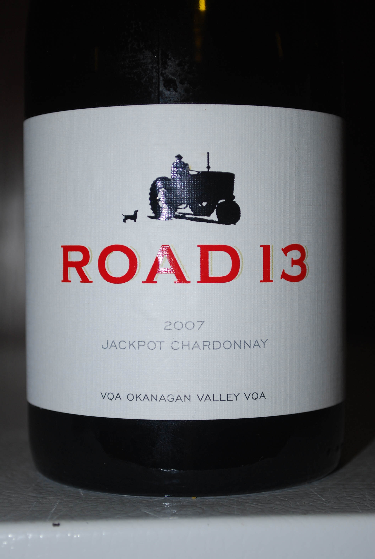 Jackpot Chardonnay 2007 from Road 13
