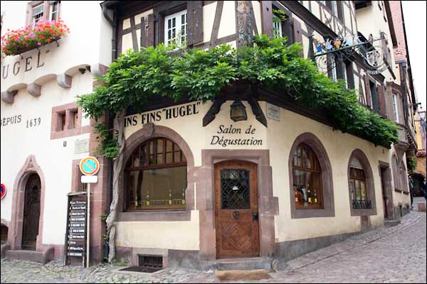 Hugel Winery in Alsace