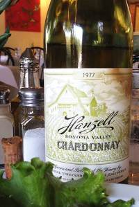hanzell chardonnay 1977