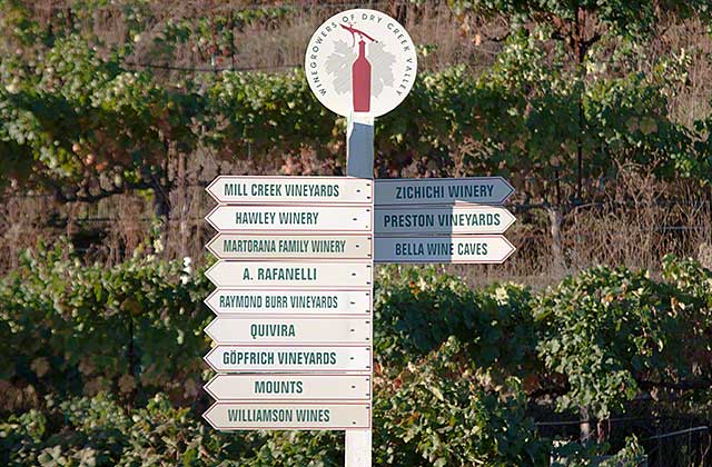 west dry creek wineries