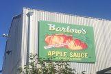 Barlow Apple sauce sign
